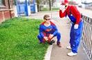 Mario feat Superman