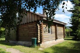 Баня русская домашняя с бассейном в деревне