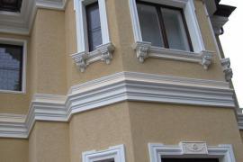 Фасадные обрамления окон и дверей