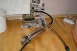 Гидропневматическая промывка систем отопления, реконструкция