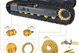 Элементы гусеничного хода строительных и дорожных машин