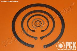 Кольцо пружиннoе упорнoе наружное гост 13940-86