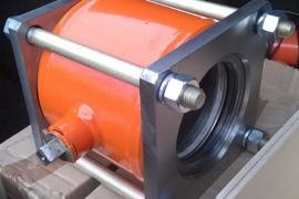 Кран шаровой кшф80, кшф100  для нефтепродуктов