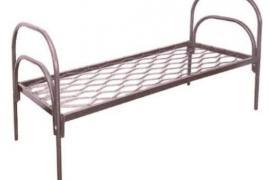 Кровать металлическая с матрасом, кровати металлические опт