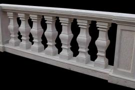 Ограждение балкона бетонное