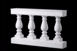 Ограждение для балконов и крылец бетонные