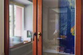 Окно деревянное, сосна 1410*1410
