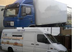 Перевозки в калининграде,области. грузовик и микроавтобус