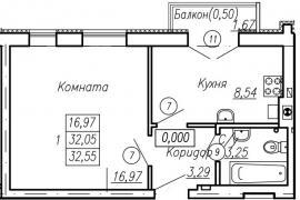 Продам 1к квартиру, Сержанта мишина улица, в г. Калининград