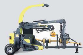 Рубильная машина с манипулятором junkkari