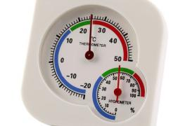 Термометр + гигрометр.