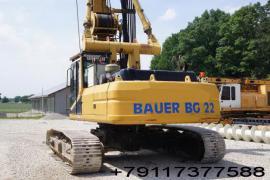 Запасные части гусеничного хода буровых установок bauer bg22