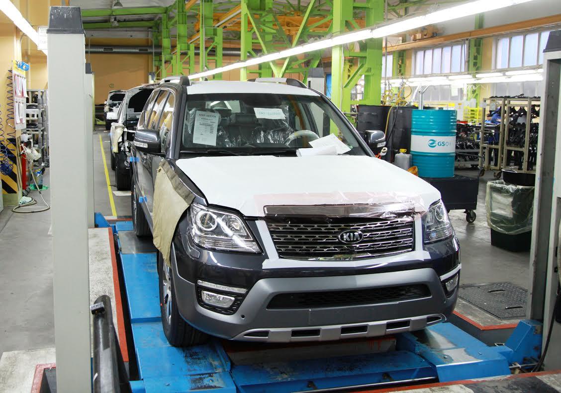 Улучшенный Киа Mohave встал наконвейер калининградского завода