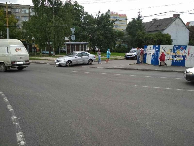 ВДТП наулице Огарёва вКалининграде пострадал младенец