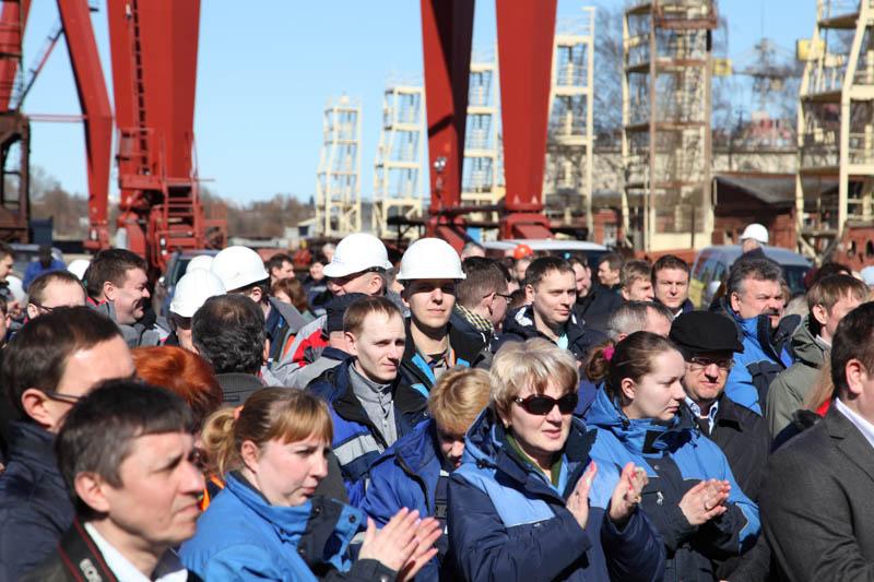 ПСЗ «Янтарь» заложил траулер «Ударник» для Камчатки