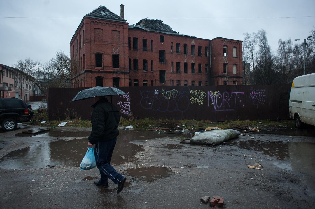 ВКалининграде наканикулах начали снос исторического здания