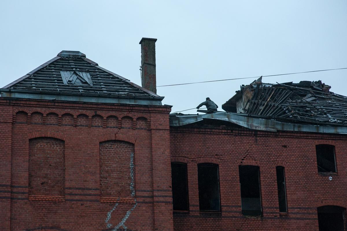 ВКалининграде остановили снос довоенного здания наулице Томской