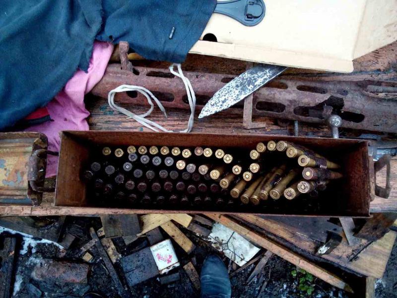 Пенсионер вНеманском районе сохранял дома склад оружия времен ВОВ