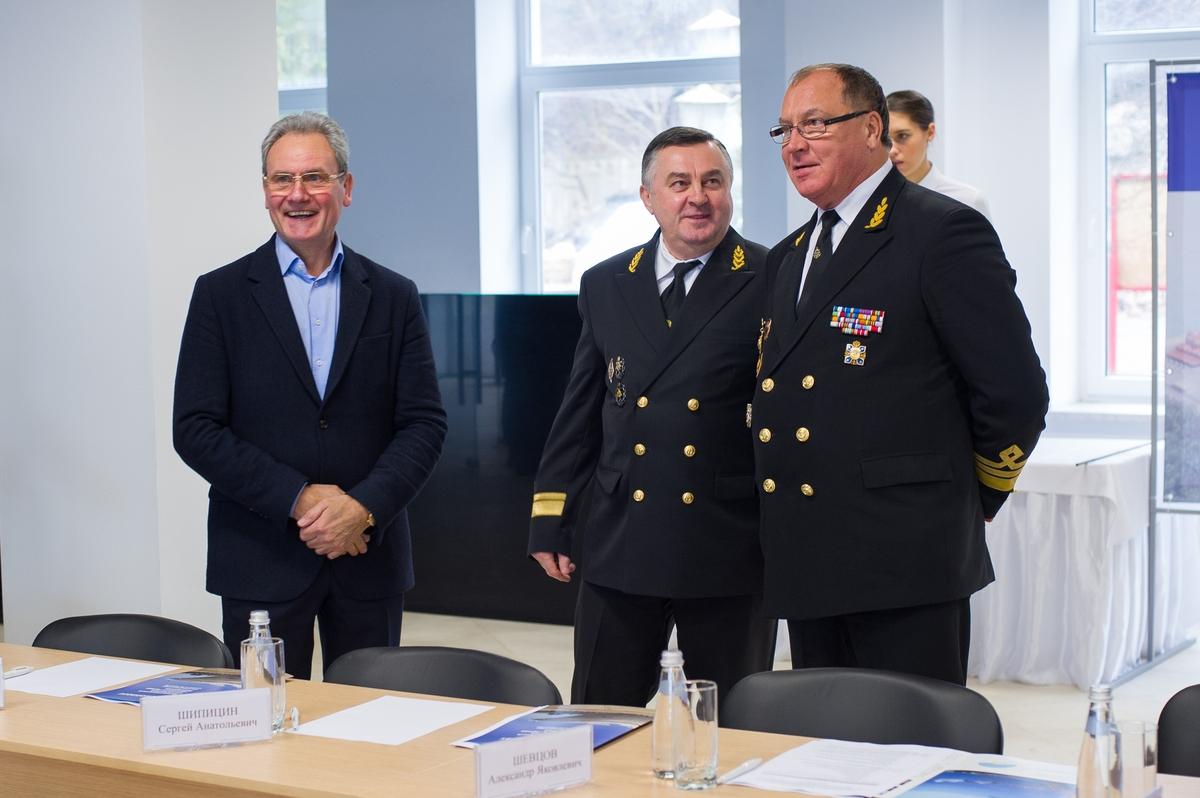 ВПионерском заложили капсулу наместе возведения морского терминала