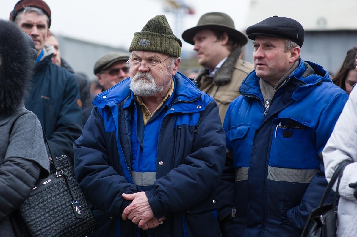 «Командор» спустили наводу вКалининграде