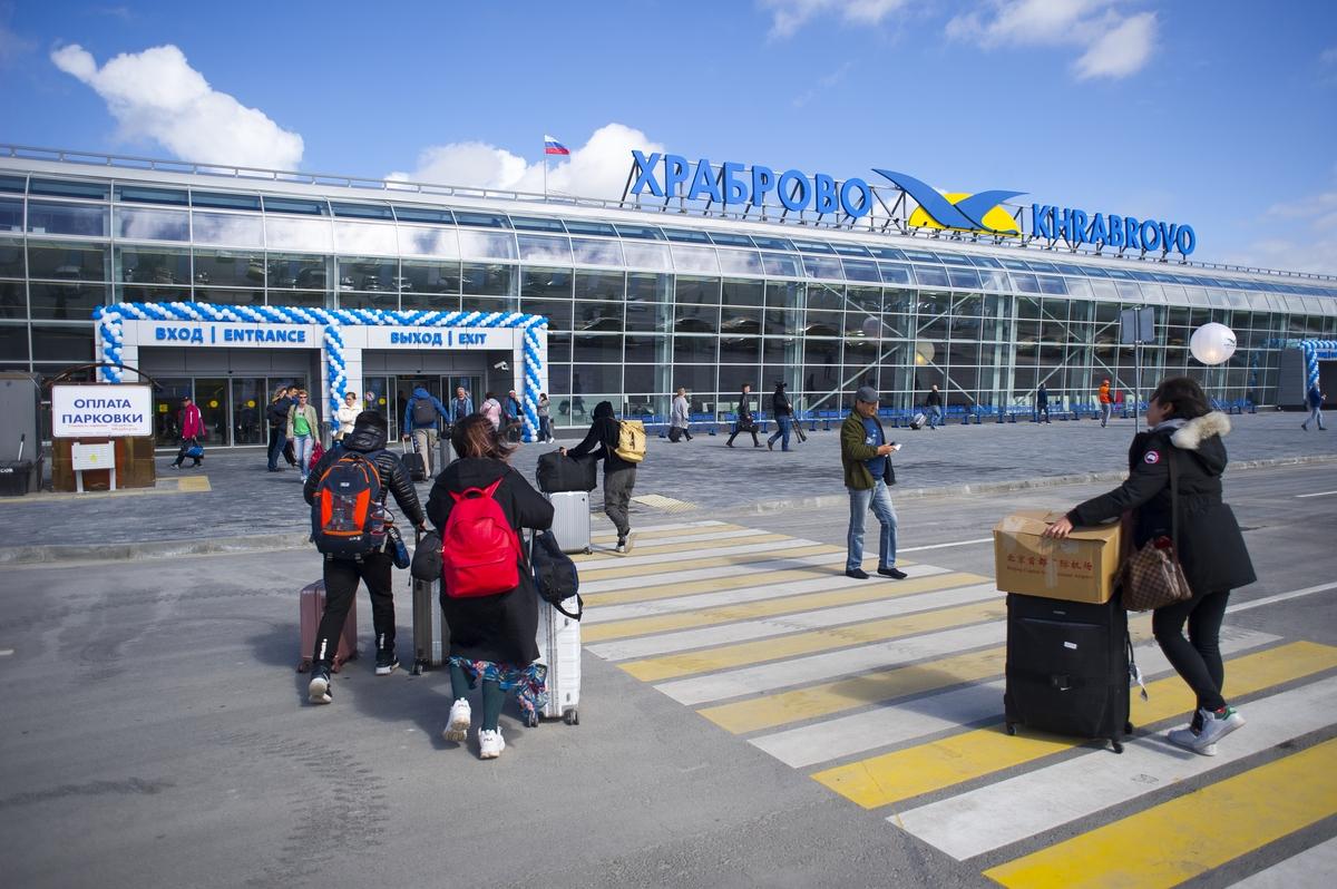 Аэропорт «Храброво» открылся после реконструкции