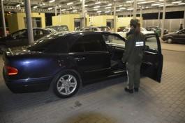 С начала года на границе с Польшей арестовали 55 автомобилей