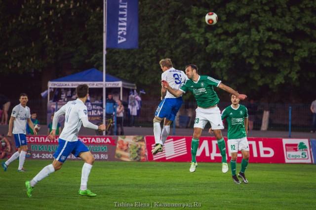 «Томь» проиграла навыезде калининградской «Балтике» 2:1