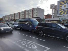В массовом ДТП в центре Калининграда пострадали трое взрослых и четырёхлетний ребёнок