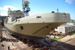 Завод «Янтарь» достроит Индии два фрегата, заложенных для ВМФ России