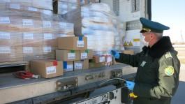 За неделю через погранпереходы Калининградской области проехало почти пять тысяч грузовиков