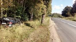 На трассе Переславское — Круглово «Хёндай» вылетел в кювет: пострадал пассажир