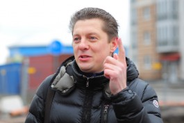 Жительница Калининграда засудила компанию депутата Горсовета за яму на дороге