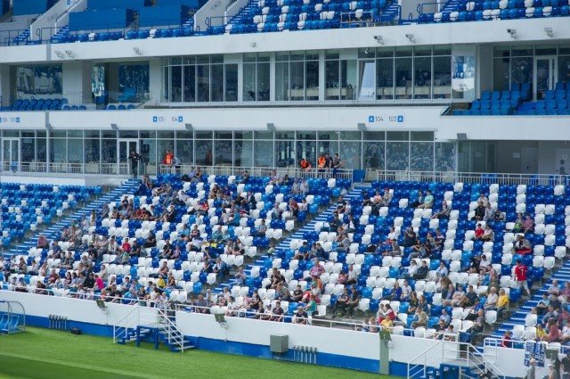 На матч «Балтика» — «Чертаново» в Калининграде разрешили пускать зрителей