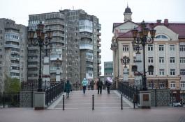 В ночь на пятницу в Калининграде разведут мост Юбилейный