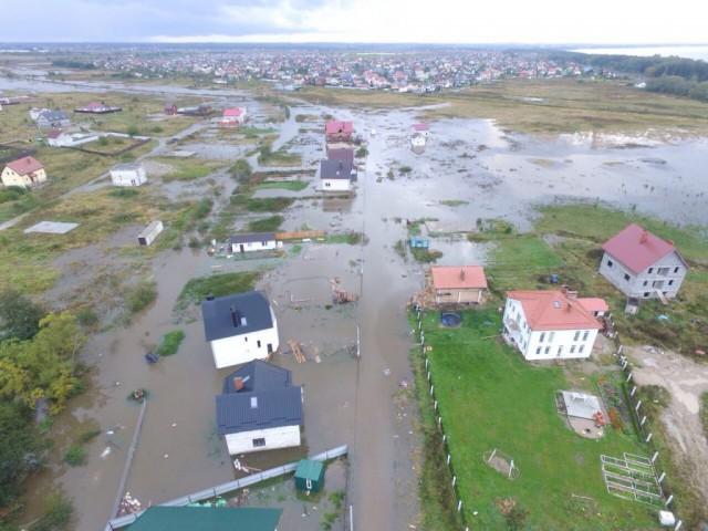 Из-за подтоплений посёлков в Зеленоградском округе ввели режим ЧС
