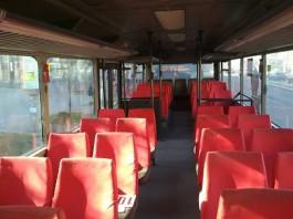 На Ленинском проспекте в Калининграде в салоне автобуса упала 44-летняя женщина