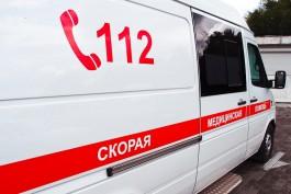 Ночью с седьмого этажа общежития БФУ имени Канта в Калининграде выпал студент