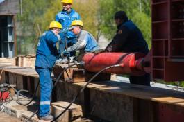 Строительство Восточной эстакады в Калининграде отстаёт от графика