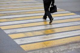 На обустройство четырёх пешеходных переходов в Калининграде выделили почти 6 млн рублей