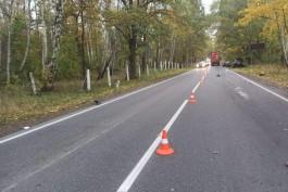 За сутки в Калининградской области в ДТП погибли две пенсионерки