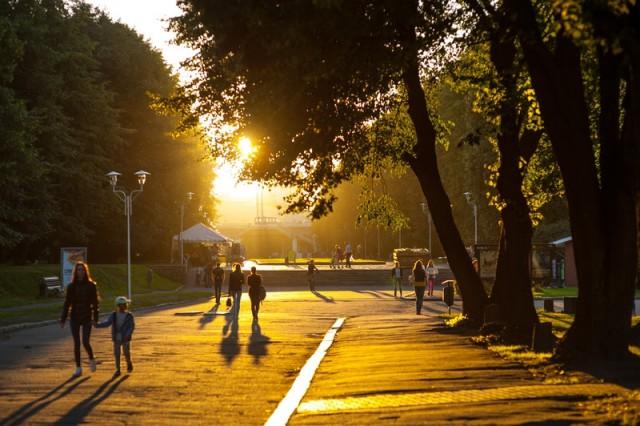 В выходные синоптики обещают в Калининградской области жаркую погоду с небольшими осадками