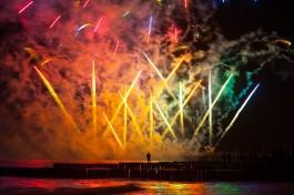 В честь Дня города в Зеленоградске дадут получасовой фейерверк над морем