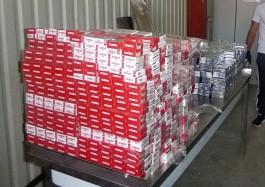 Калининградец на BMW X5 пытался контрабандой вывезти в Литву две тысячи пачек сигарет