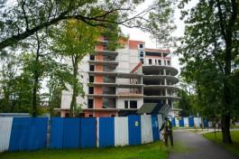Власти: Собственник продолжает переговоры о продаже недостроенной гостиницы на улице Горького