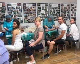 В офисе калининградского «Ростелекома» организовали пункт сдачи крови