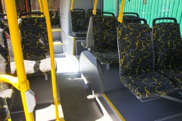 В Калининграде в салоне автобуса упала пенсионерка