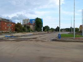 На улице Гагарина снесли последний дом, мешающий строительству Восточной эстакады