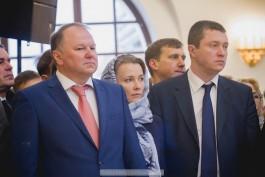 Патриарх Кирилл наградил Николая Цуканова орденом за строительство храма в Гусеве