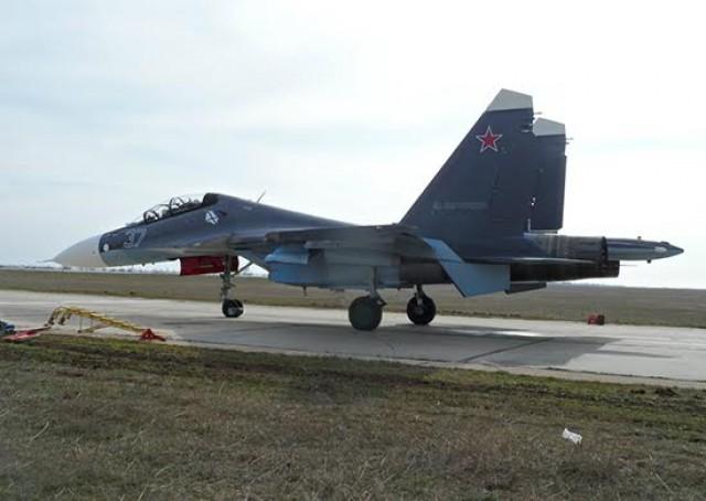 Лётчики Балтфлота испытывают самые новые истребителиСУ
