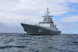 Корвет «Бойкий» признали лучшим кораблём на Балтфлоте